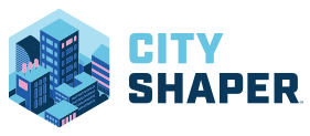 First Lego Leage City Shaper logo