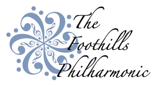 The Foothills Philharmonic Logo