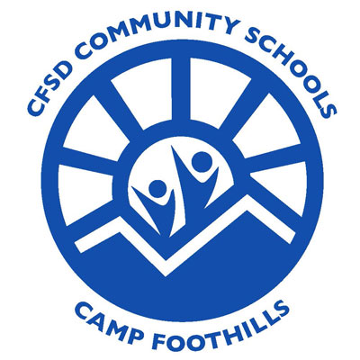 CFSD Community Schools Camp Foothills Logo